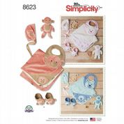 8623 Simplicity Pattern: Baby Accessories